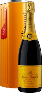 Veuve Clicquot Yellow Label Tin Mailbox Gift Box - Buy