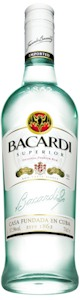 Bacardi Superior Light Rum 700ml - Buy