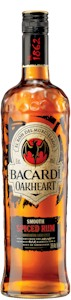 Bacardi Oakheart Smooth Spiced Rum 700ml - Buy