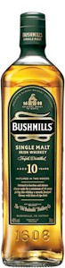 Bushmills 10 Year Irish Single Malt Whiskey 700ml - Buy