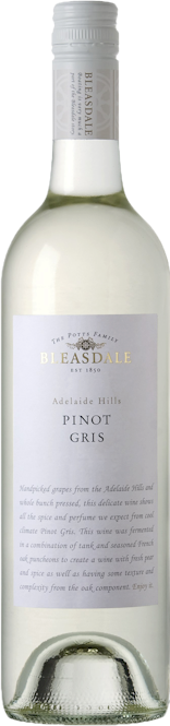 Bleasdale Adelaide Hills Pinot Gris 2017