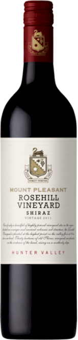 Mount Pleasant Rosehill Shiraz 2011 - Buy