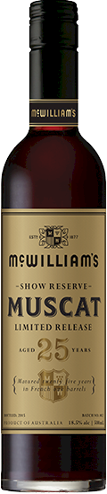 McWilliams Show Reserve 25 Years Muscat 500ml