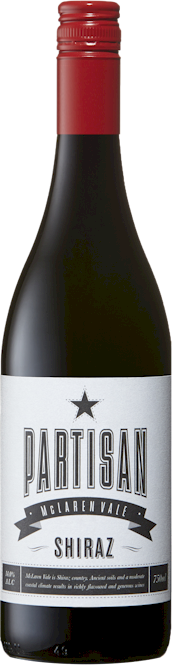 Partisan White Label Shiraz 2013