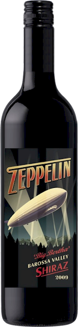Zeppelin Big Bertha Barossa Shiraz 2015