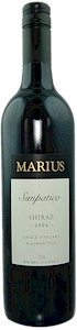 Marius Simpatico Shiraz 2008 - Buy