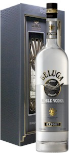 Beluga Noble Vodka Glass Gift Pack 700ml - Buy