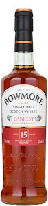 Bowmore 15 Years Darkest Islay Malt 700ml - Buy