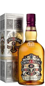 Chivas Regal 12 Year Old Scotch Whisky 700ml - Buy