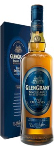 Glen Grant 5 Decades Speyside Malt 700ml - Buy