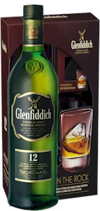 Glenfiddich 12 Year Slow Melt Tumbler Gift Box - Buy