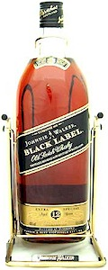 Johnnie Walker Black Label Cradle Scotch 4.5 Litre - Buy