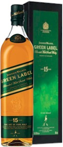 Johnnie Walker Green Label 15 Years 700ml - Buy