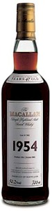 Macallan Single Malt Scotch Vintage 1954 700ml - Buy