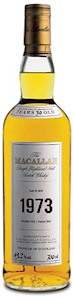 Macallan Single Malt Scotch Whisky 1973 700ml - Buy
