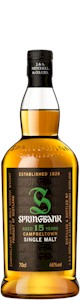 Springbank 15 Years Campbeltown Malt 700ml - Buy