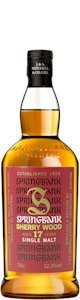 Springbank Sherry Wood 17 Year Cask Strength Malt 700ml - Buy