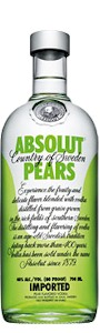 Absolut Pears Vodka 700ml - Buy