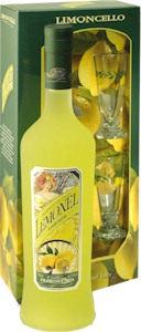 Liquore Lemonel Limoncello Gift Pack 750ml - Buy