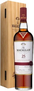 Macallan 25 Year Sherry Oak Speyside Malt 700ml - Buy