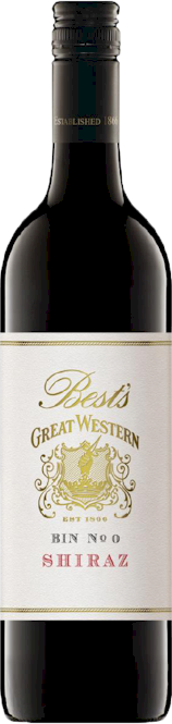 Bests Great Western Bin 0 Shiraz