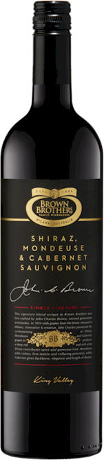 Brown Brothers Single Vineyard Shiraz Mondeuse Cabernet 2013