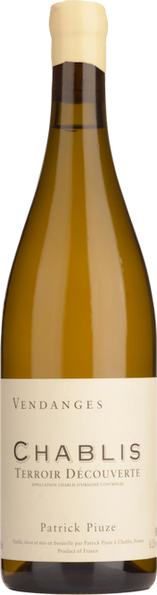 Patrick Piuze Chablis Terroir Decouverte