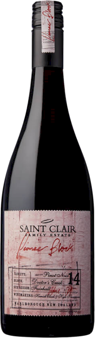 Saint Clair Pioneer 14 Doctors Creek Block Pinot Noir