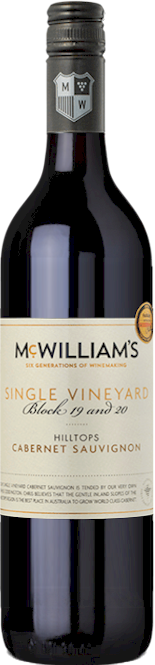 McWilliams Blocks 19 20 Cabernet Sauvignon