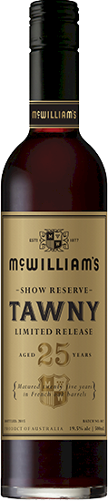 McWilliams Show Reserve 25 Years Tawny 500ml