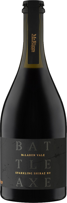 Mr Riggs Battle Axe Sparkling Shiraz