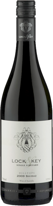 Moppity Lock Key Shiraz 2014