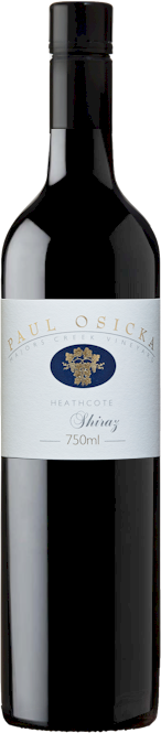 Paul Osicka Majors Creek Shiraz