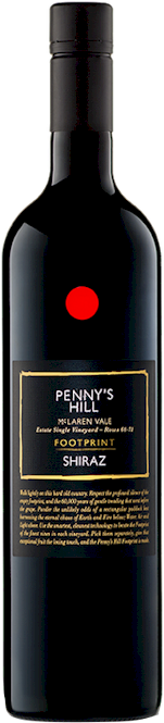 Pennys Hill Footprint Shiraz