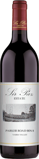 Sir Paz Parker Road Bin 8 Shiraz Merlot