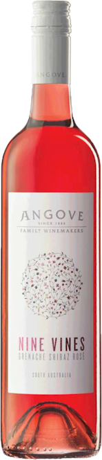 Angoves Nine Vines Grenache Shiraz Rose 2014