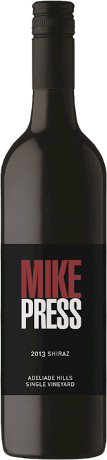 Mike Press Adelaide Hills Shiraz 2015
