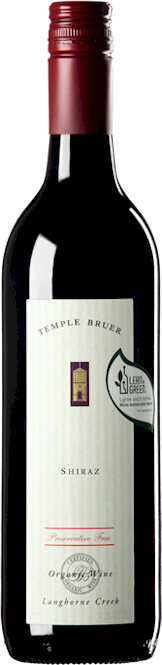 Temple Bruer No Preservative Shiraz 2015