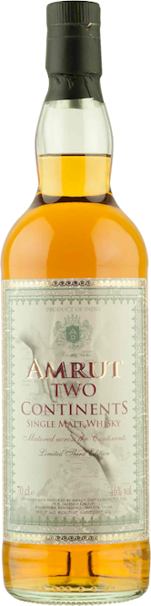 Amrut Two Continents Malt 700ml