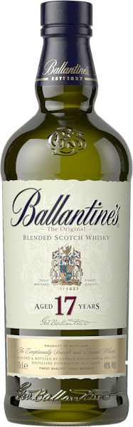 Ballantines 17 Year Old Scotch Whisky 700ml