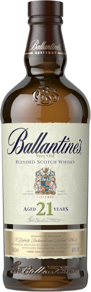 Ballantines 21 Year Old Scotch Whisky 700ml