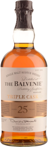 Balvenie 25 Years Triple Cask Malt 700ml