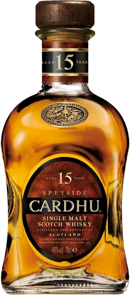 Cardhu 15 Years Speyside Malt 700ml