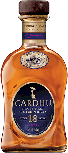 Cardhu 18 Years Speyside Malt 700ml