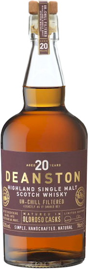 Deanston 20 Year Cask Strength Highland Malt 700ml