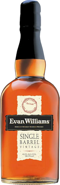 Evan Williams Single Barrel Straight Bourbon 700ml