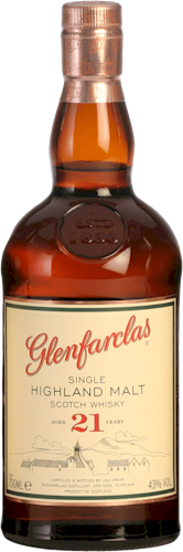 Glenfarclas Malt Scotch Whisky 21 Years 700ml