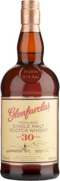 Glenfarclas 30 Years Speyside Malt Whisky 700ml