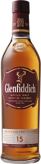 Glenfiddich Solera Reserve 15 Year Malt 700ml