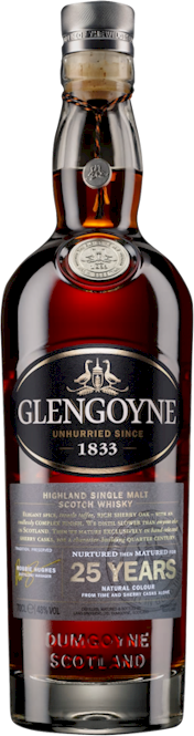 Glengoyne 25 Years Highland Malt 700ml